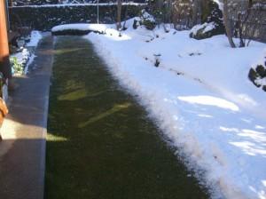雪が降った季節